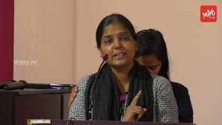 Radhika Reddy's Sister Speech | V6 Anchor Radhika Santhapa Sabha | TUWJ | YOYO TV Channel