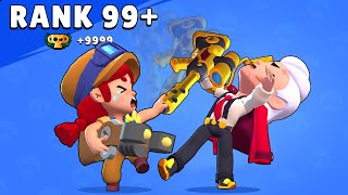 Rank 99+  Belle vs Jessie - Brawl Stars Funny Pose Animation #Goldarmgang
