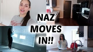 naz moves out