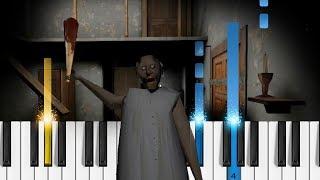 GRANNY (Horror Game) Theme Music - Piano Tutorial / Piano Cover