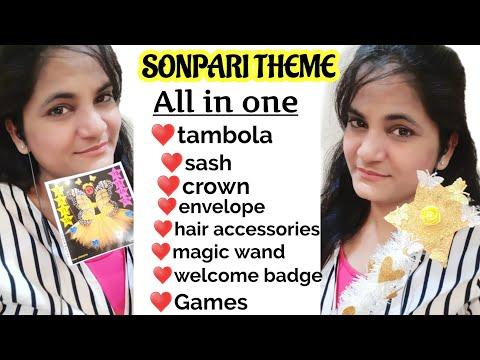 Sonpari Theme #kitty #party Tambola + Games