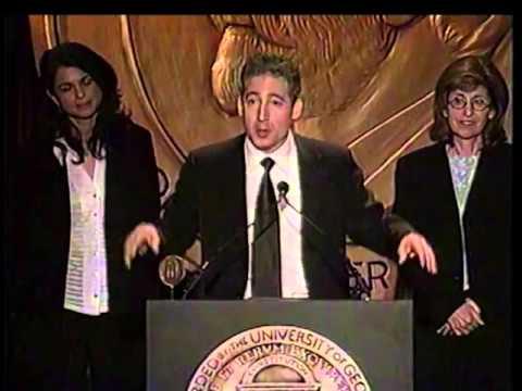 Brian Greene - NOVA: The Elegant Universe - 2003 Peabody Award Acceptance Speech