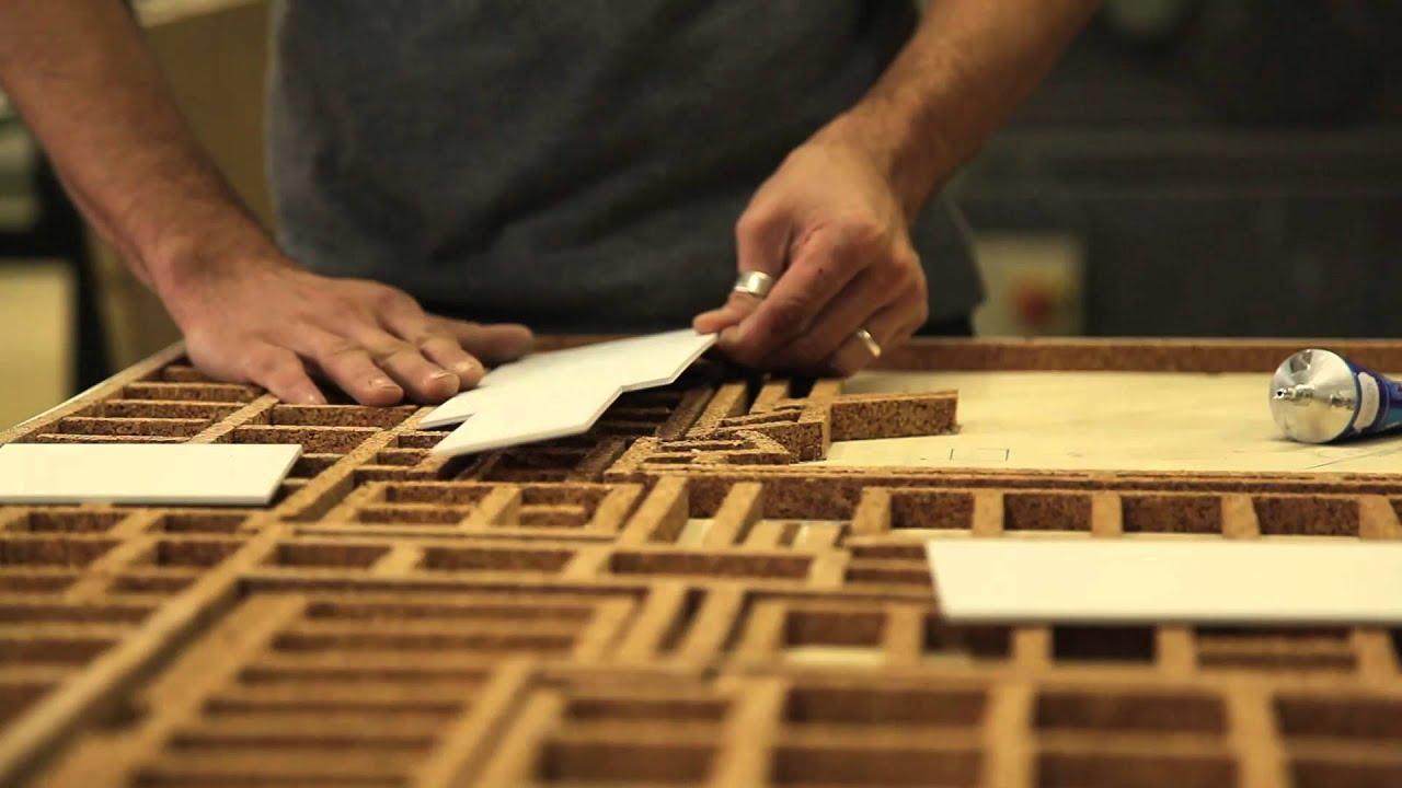 Fabuleux 2- Construire le terrain d'une maquette d'architecture - YouTube BR41