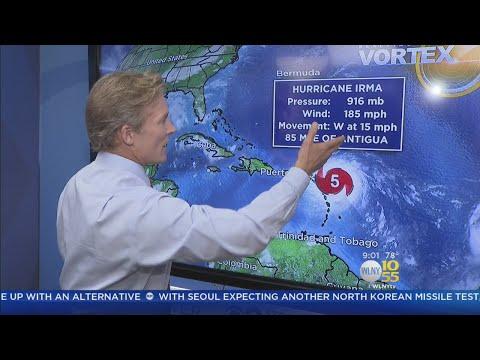 Keeping Track Of Hurricane Irma