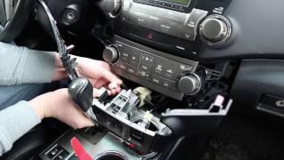 bluetooth kit for toyota highlander 2008 2013 by gta car kits