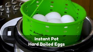 Instant Pot Hard Boiled Eggs  Avokado Steamer Basket  What&#39s Up Wednesday!
