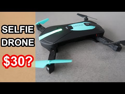 JY018 Foldable Selfie Drone Review