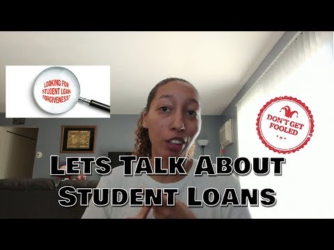 Lets Talk About Student Loan Forgiveness
