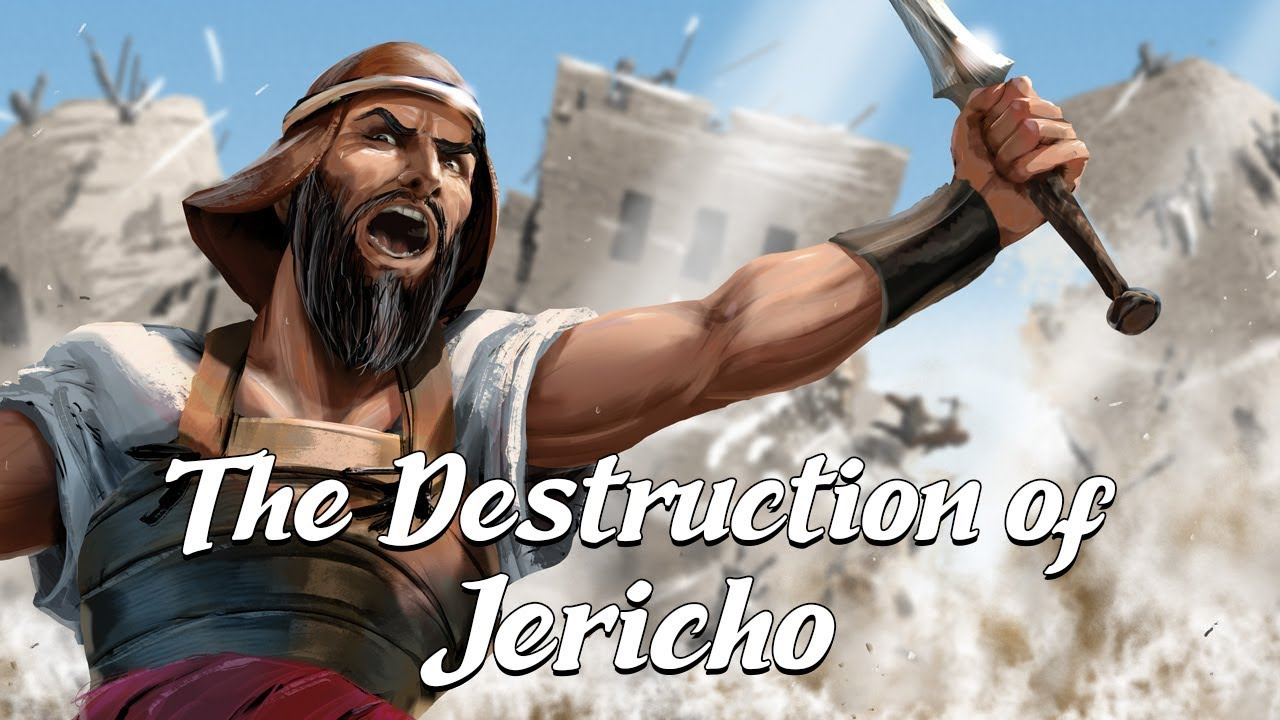 The Destruction of Jericho (Biblical Stories Explained)