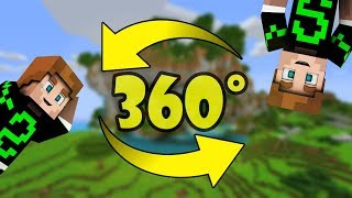 UN VIDEO DI MINECRAFT A 360°