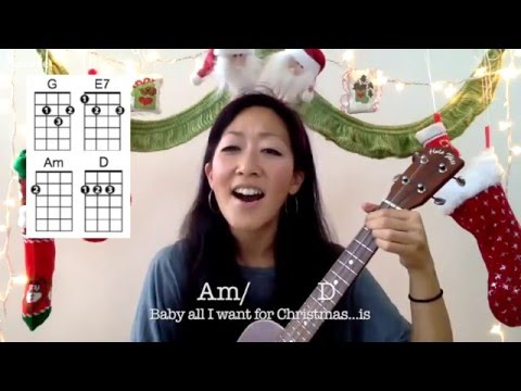 All I Want for Christmas is You // Ukulele Play-Along