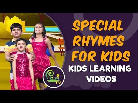 Special Rhymes for Kids | Popular Jingles - Kids Learning Videos - Pari TV | 4K Video