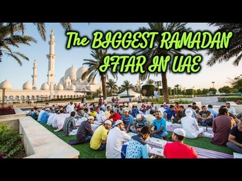 The Biggest Iftar and Most Beautiful Mosque in UAE | Sheikh Zayed Mosque |