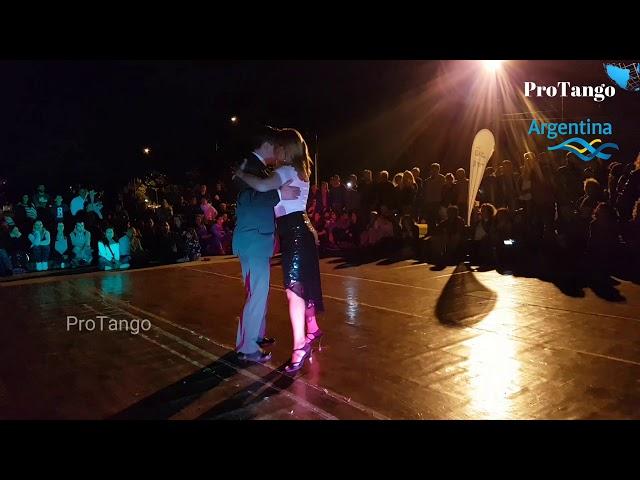 Campeones Amigos de la milonga, tango baile, Uruguay, Pablo Collazo, Elena Machado