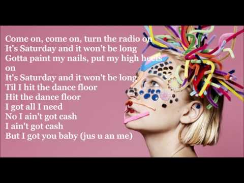 Sia .Cheap thrills lyrics video ft Sean...