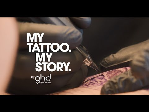 My Tattoo My Story   ghd ink on pink
