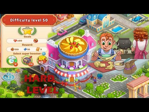 Cooking Diary /One HARD Level At Deja -Vu Restaurant/ Level 50- How To Complete It?