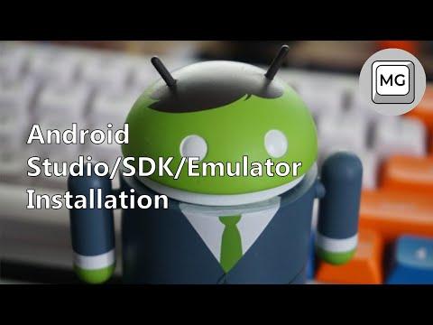 Android Studio/SDK/Emulator In-depth Installation
