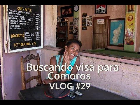 Buscando visa para Comoros. VLOG #29