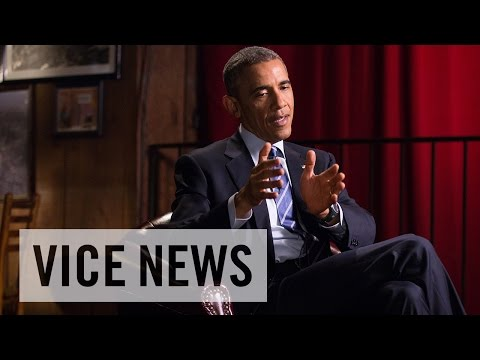 President Barack Obama Speaks With VICE News