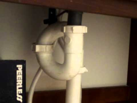 """Nashville Home Inspector Reveals """"S"""" trap that needs updating to modern plumbing"""