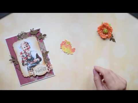 Скрапбукинг открытка с днем учителя мастер класс