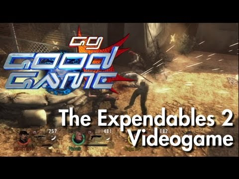 Good Game Review - The Expendables 2 - TX: 04/09/12
