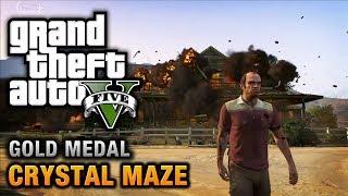 GTA 5 - Mission #20 - Crystal Maze [100% Gold Medal Walkthrough]