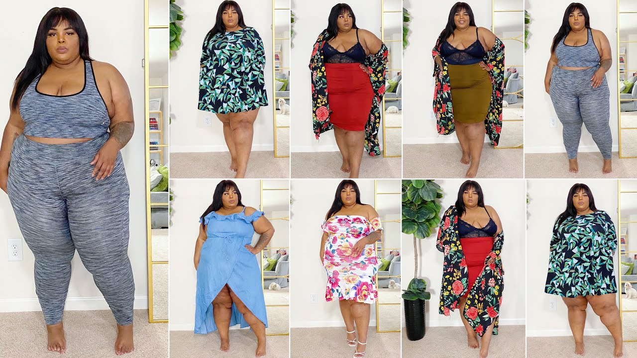 Black Owned 🔥 Shop Lace N Leopard Plus Size/Curve Try-On Haul (3X) | 2020