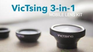 victsing 3 in 1 mobile lens kit review