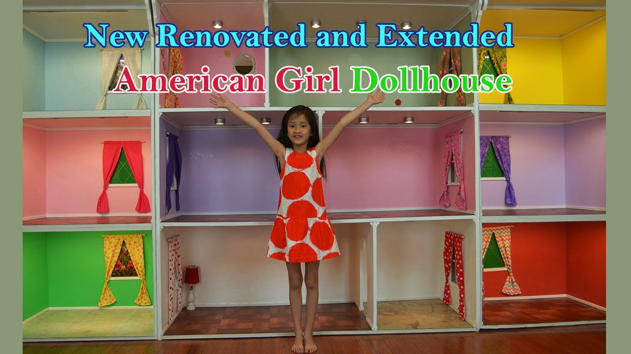 One Of The Biggest American Girl Doll Houses Youtube