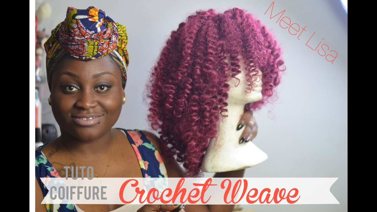 comment r aliser une crochet weave l tuto coiffure youtube. Black Bedroom Furniture Sets. Home Design Ideas