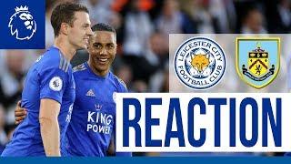 'We're All Buzzing' - Jonny Evans | Leicester City 2 Burnley 1