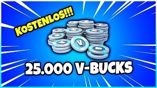😱 This is how you get FREE 25,000 V-Bucks! - Fortnite Battle Royale
