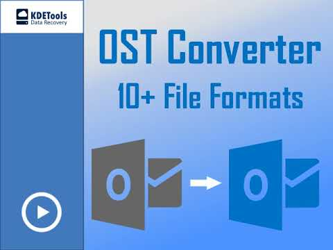 OST To PST Converter FREE Recover & Export OST File To PST/Office365