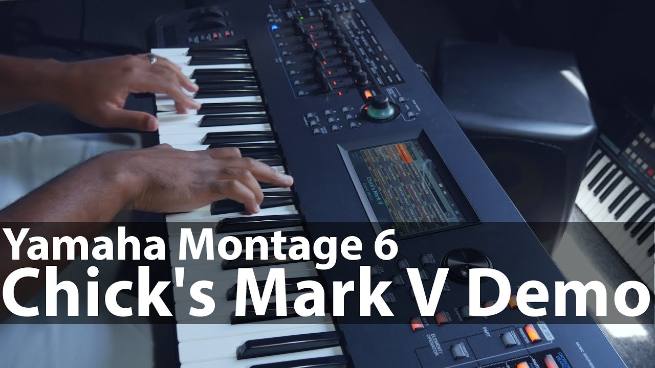 Yamaha Montage - Loading Libraries + Chick's Mark V Demo