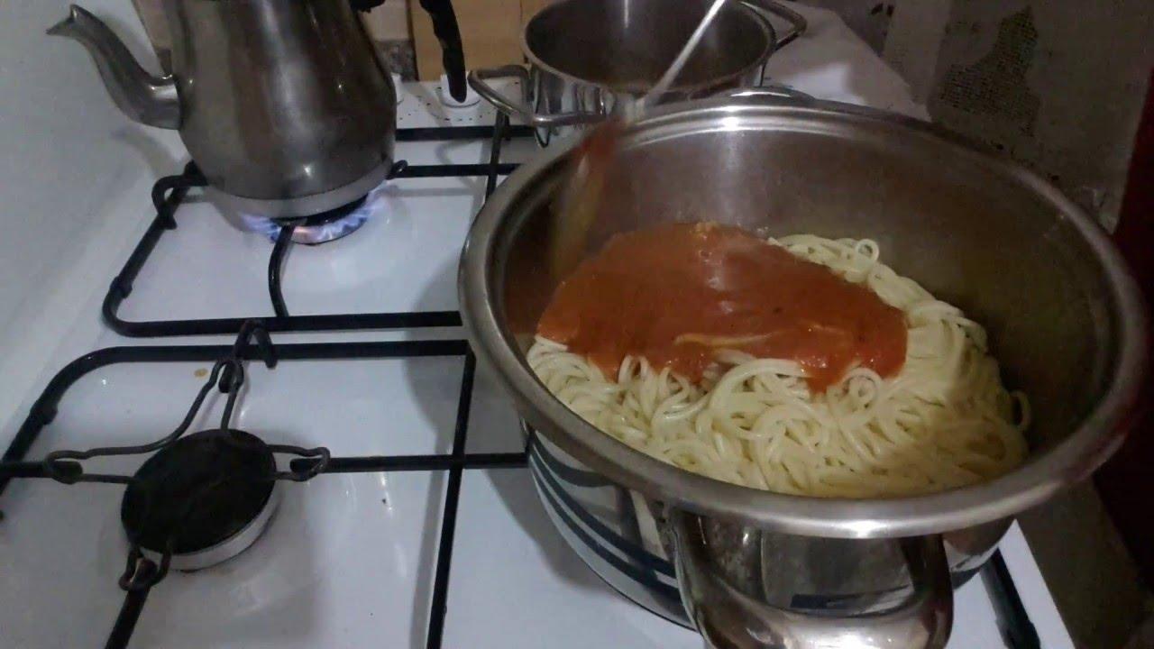 Salçalı Spagetti Tarifi Videosu