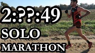 Running My First (unofficial) Marathon by Myself
