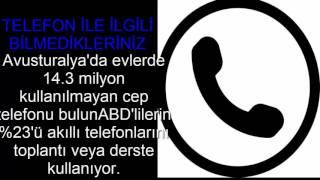CEP TELEFONU İLE İLGİLİ BİLMEDİĞİNİZ 10 TON BİLGİ!