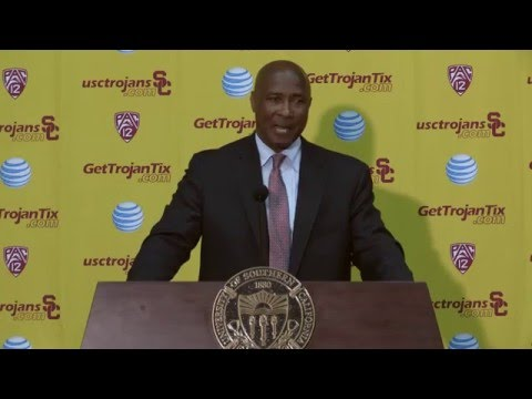 Lynn Swann Introduced as USC AD