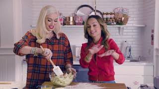 Cooking with Gwen Stefani & Giada De Laurentiis at Williams Sonoma
