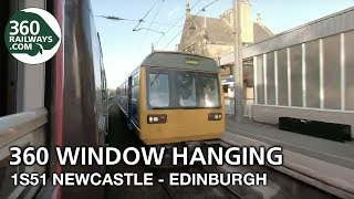1S51 Newcastle to Edinburgh HST in 360º (View in 4K)