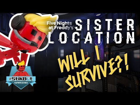 Stikbot Gaming ? | Five Nights at Freddy's : Sister Location (LOTS OF SCREAMING!!) thumbnail