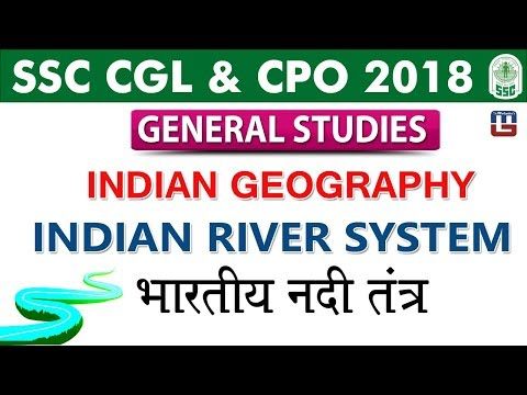 Indian Geography | Indian River System | SSC CGL 2018 | CPO 2018 | GS | Live at 12 PM