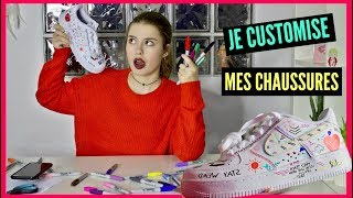 ZOZO ARTISTE : JE CUSTOMISE MES CHAUSSURES