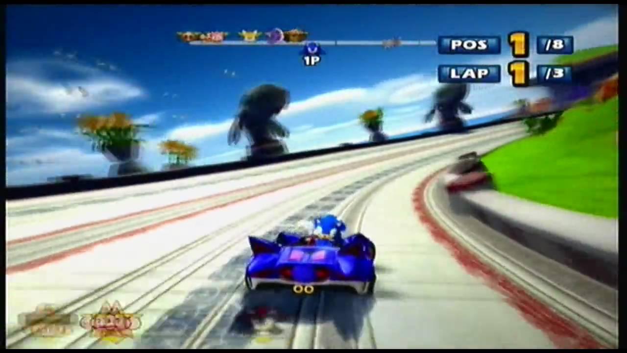 91461bcdac7a Xbox 360  Sonic   SEGA All Stars Racing  Gameplay Part 1 (HD) - YouTube