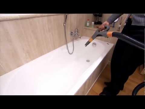 Pulizia vasca da bagno vapore con biocleaner youtube