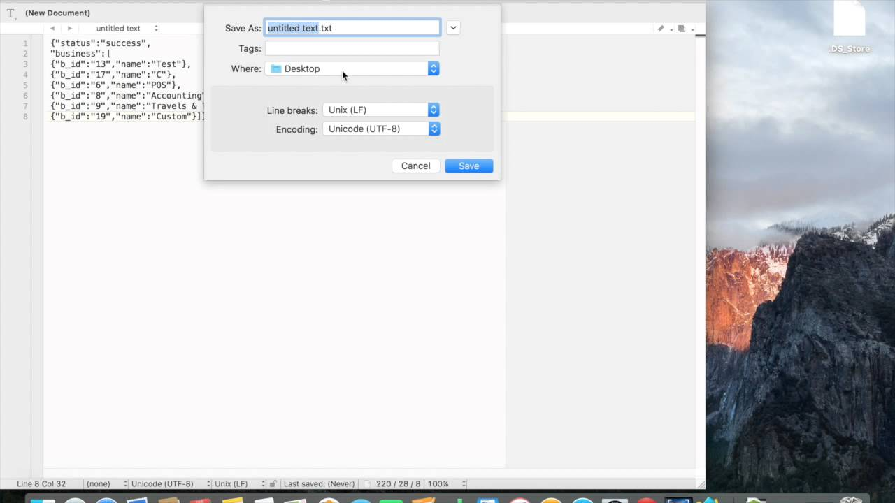 Create json link with google drive