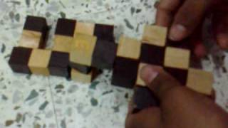 Wooden Snake Cube Solution By Zeeshan