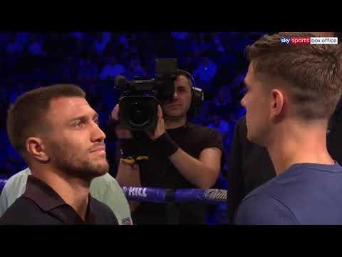 First Face Off | Vasiliy Lomachenko Vs Luke Campbell